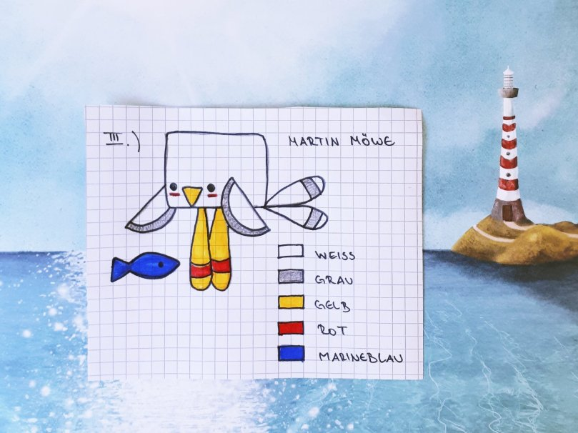Martin Möwe Das Meerestrio Ist Komplett Yippieyippieyarn