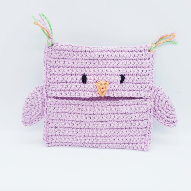 Pocket Buddies Eule / Crochet Owl